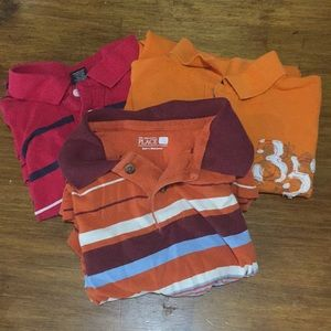Children's place Lot of 3 boys size 8 polo shirts